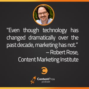 Why Robert Rose Wants To Kill Marketing