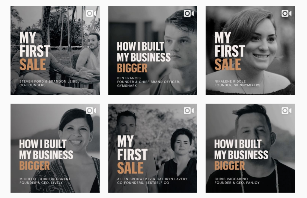 Shopify Build a Business campaign