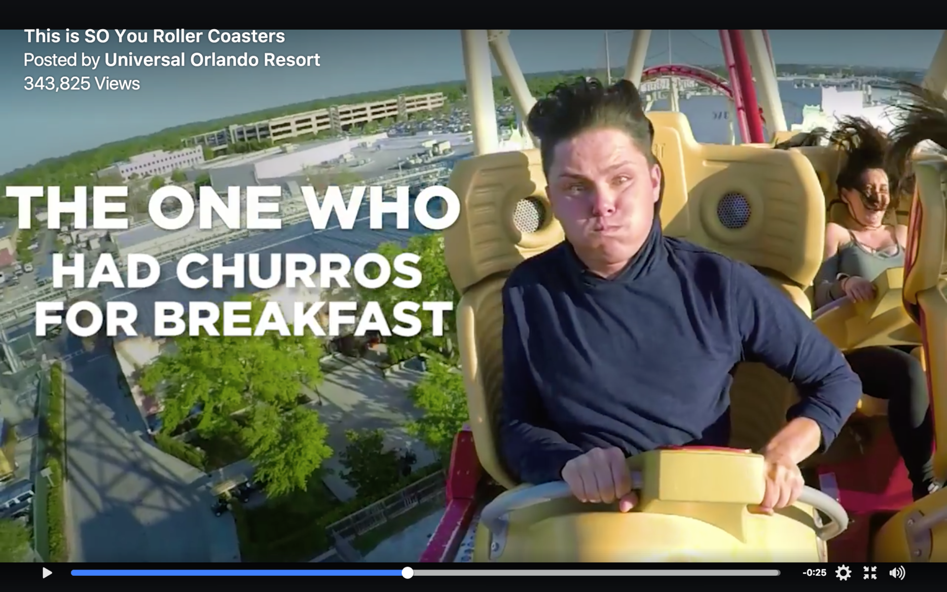 The One Who Had Churros