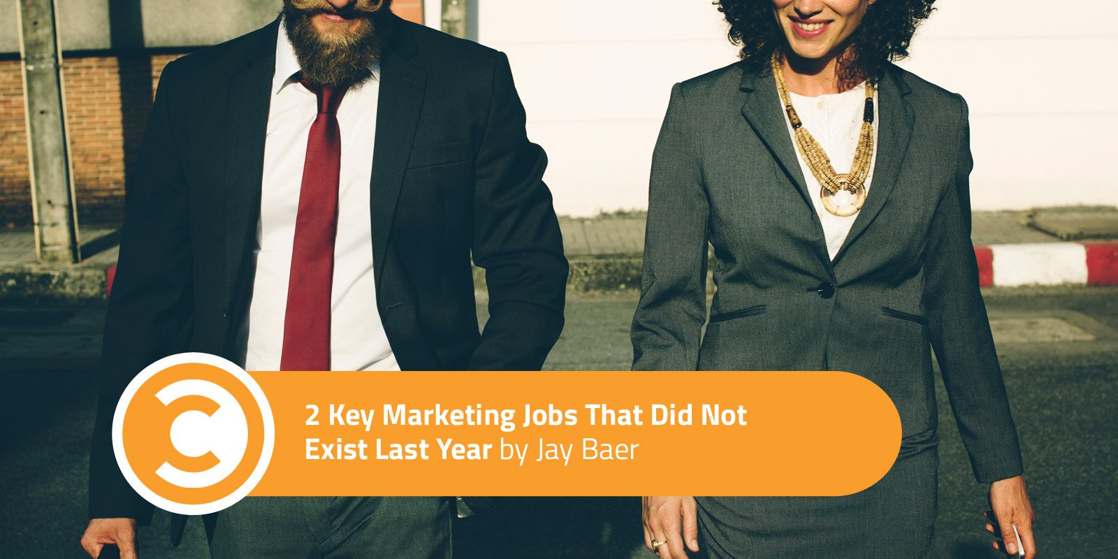 2 Key Marketing Jobs That Did Not Exist Last Year