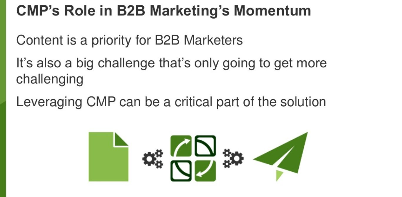 B2B marketers prioritize content marketing