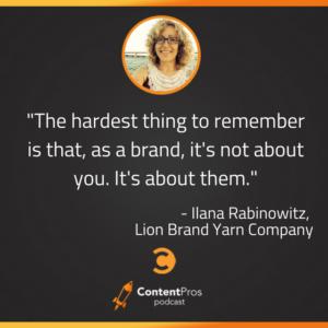 How Lion Brand Yarn Company Turns Customers Into Influencers