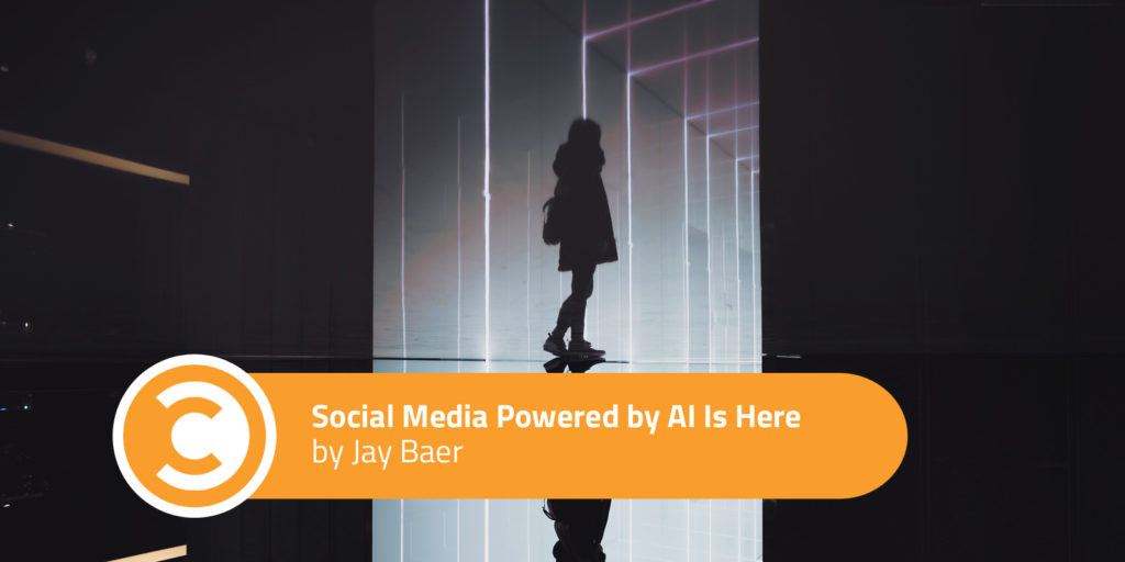 Social Media Powered by AI Is Here