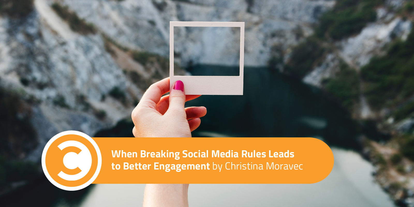 When Breaking Social Media Rules Leads to Better Engagement