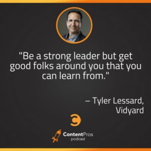 How Vidyard Uses Video to Diversify Content