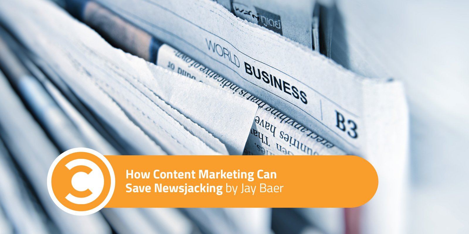 How Content Marketing Can Save Newsjacking