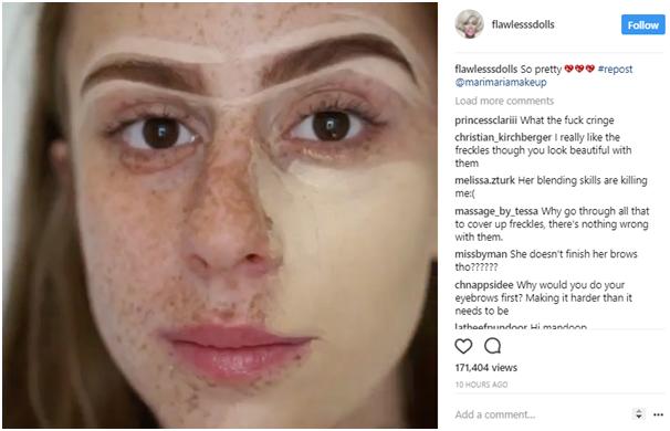 Instagram branded hashtag content