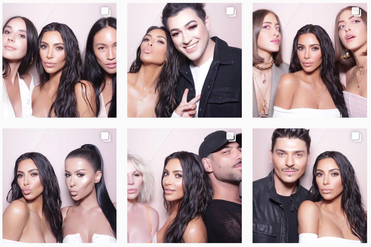 Kim Kardashian on Instagram