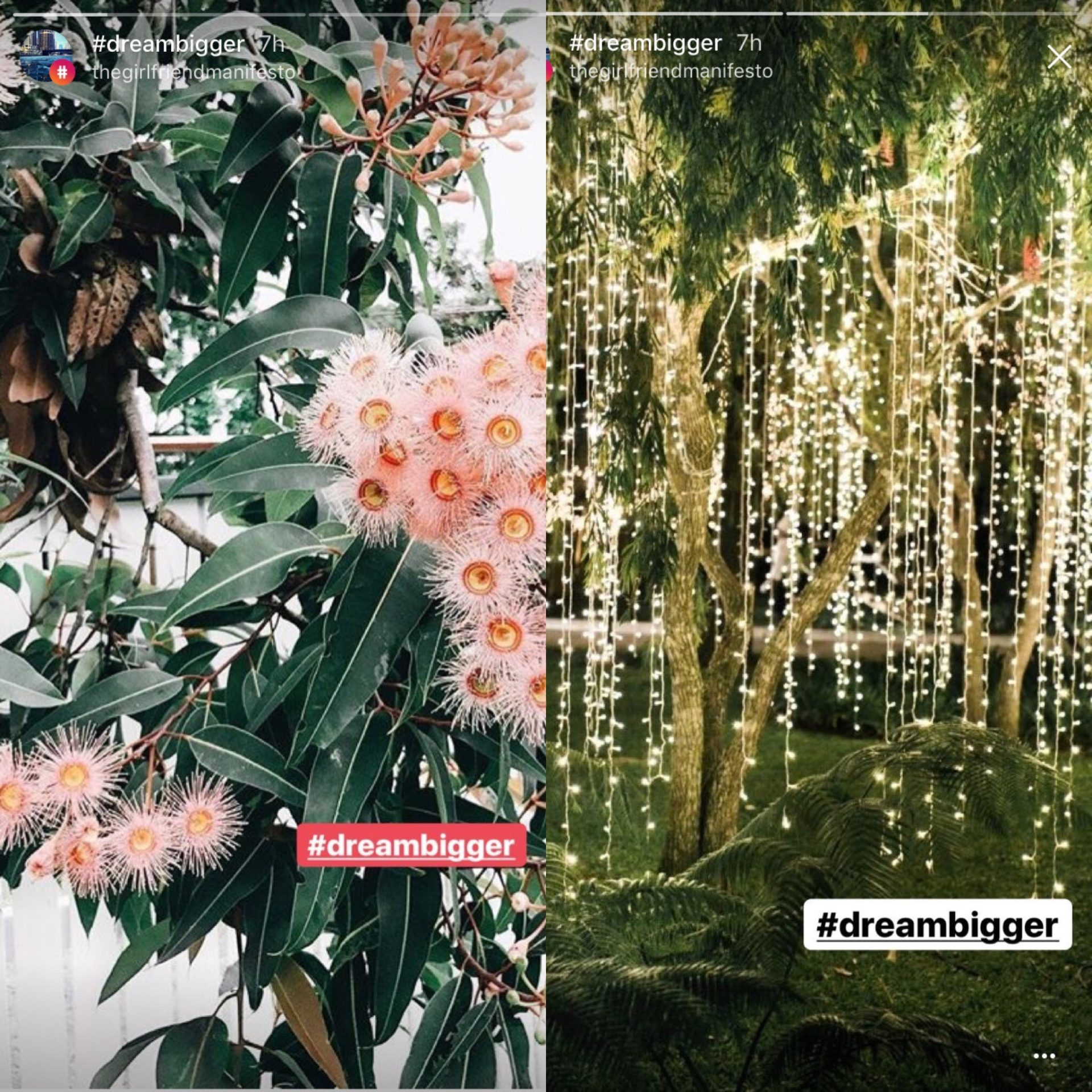 Strategic hashtagging in Instagram Stories