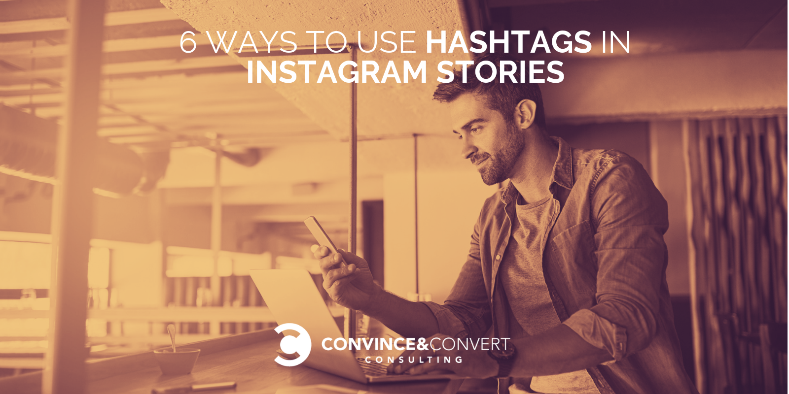 how to use hashtags instagram stories