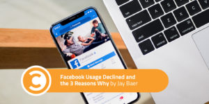 Facebook Usage Declined and the 3 Reasons Why