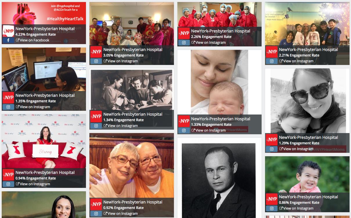 NewYork-Presbyterian leads social media