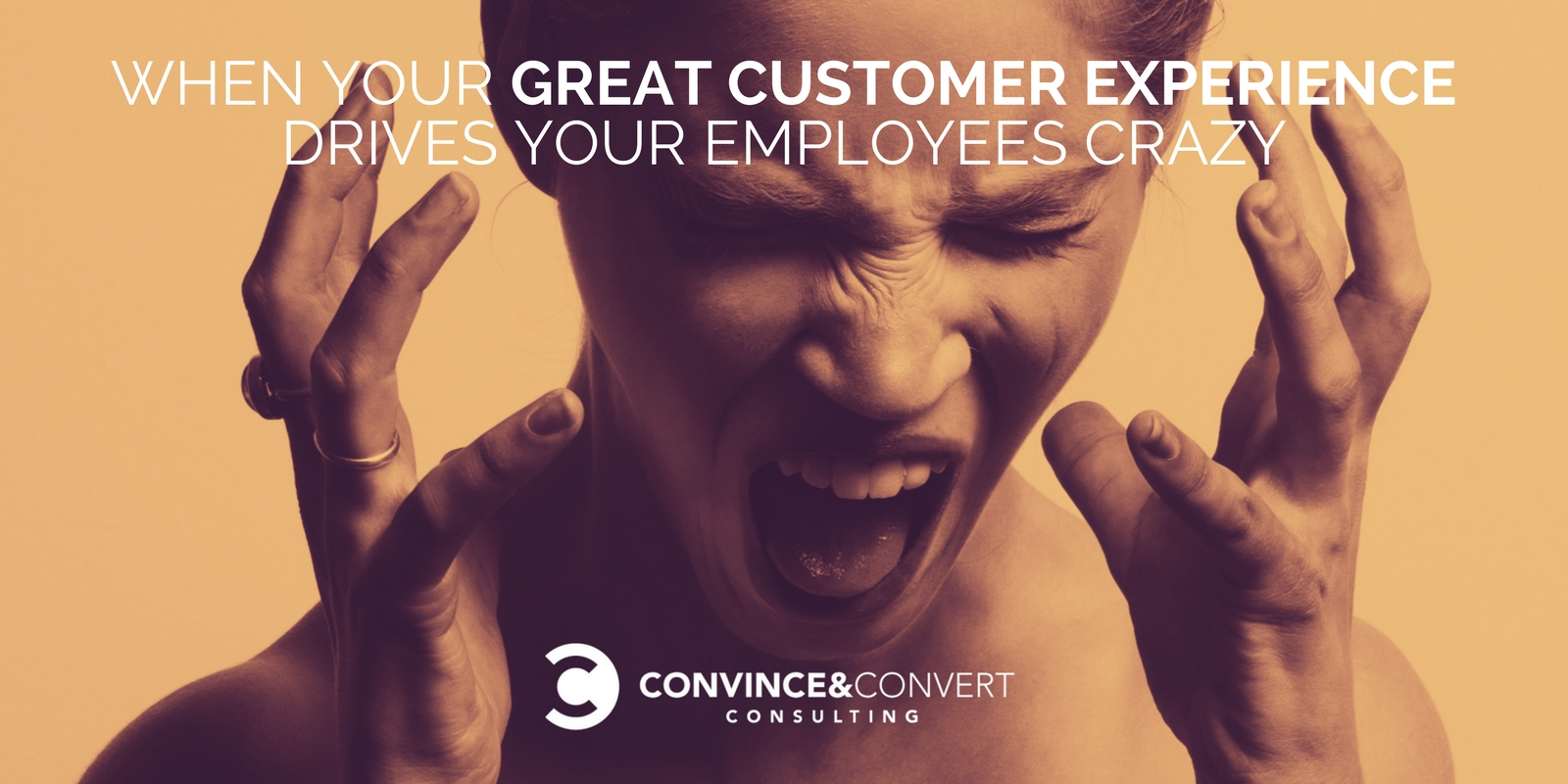 When Your Great Customer Experience Drives Your Employees Crazy