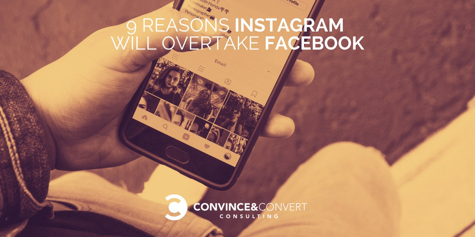 9 Reasons Instagram Will Overtake Facebook | Baer Facts