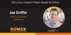 Why Your Content Team Needs an Editor