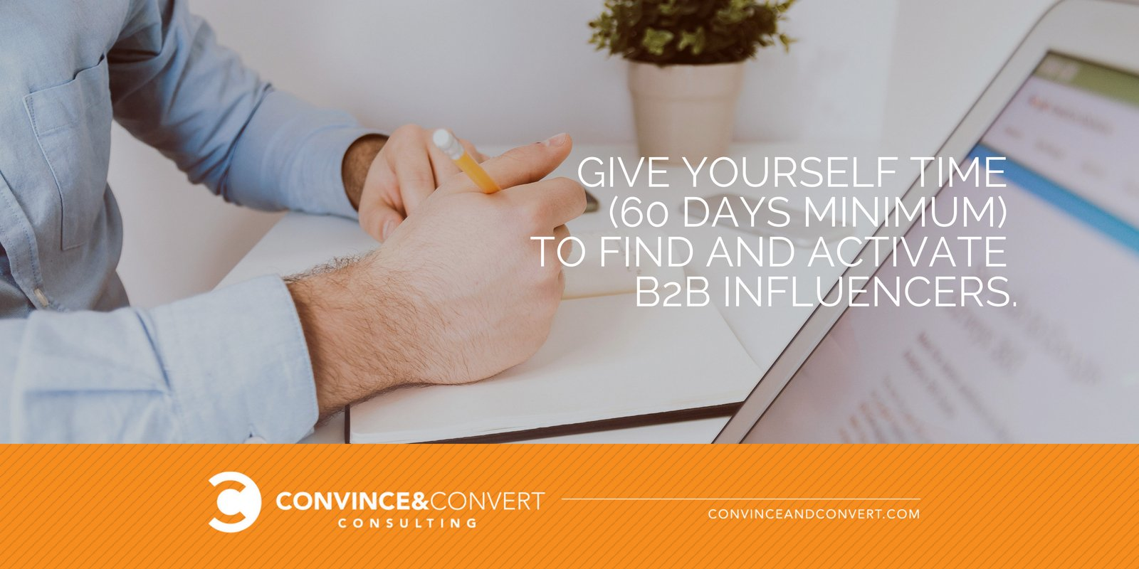 Time to find B2B influencers