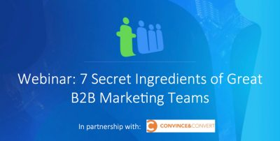 great b2b marketing teams