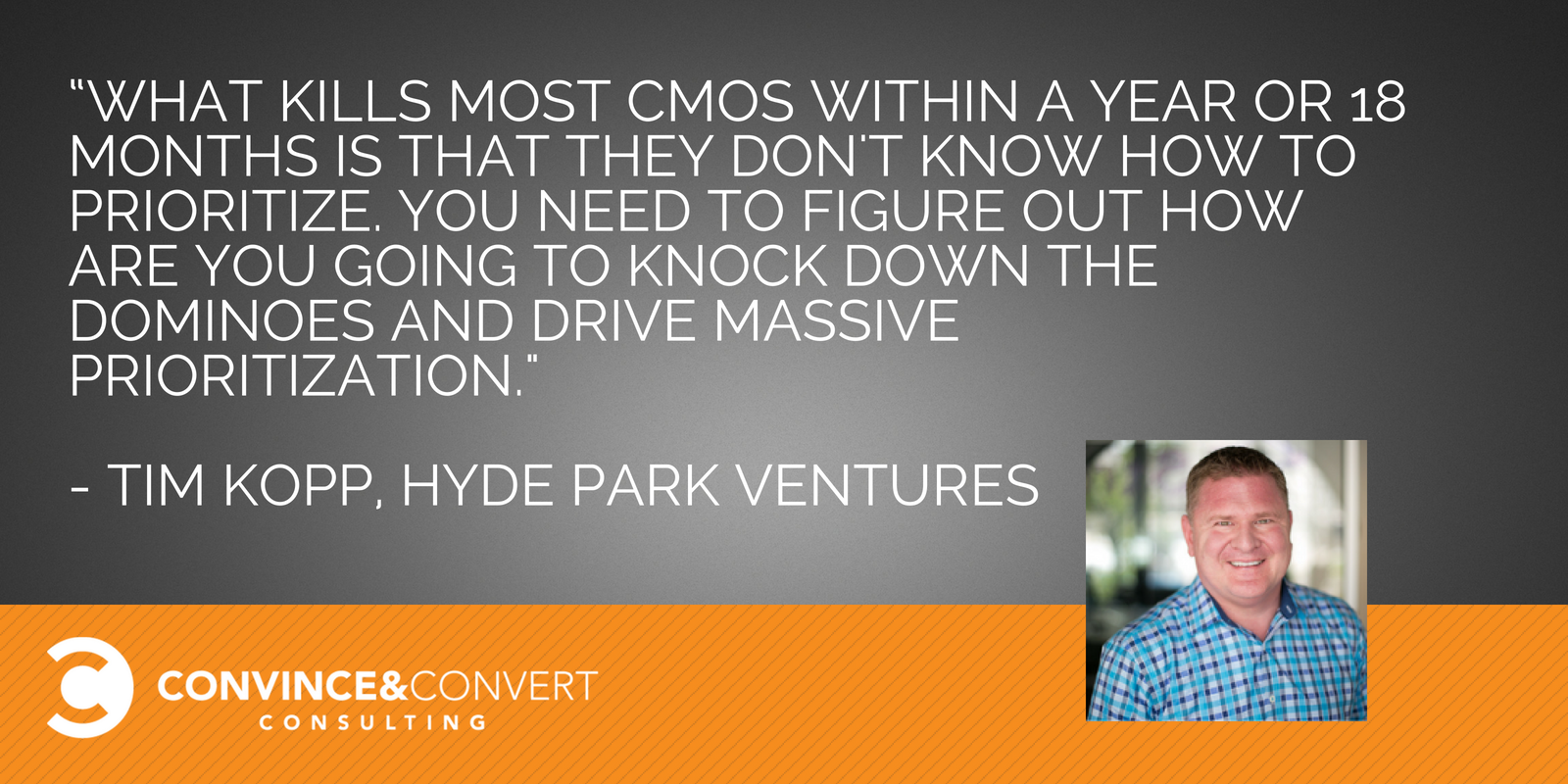 Tim Kopp Hyde Park Ventures