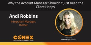 Why the Account Manager Shouldn't Just Keep the Client Happy
