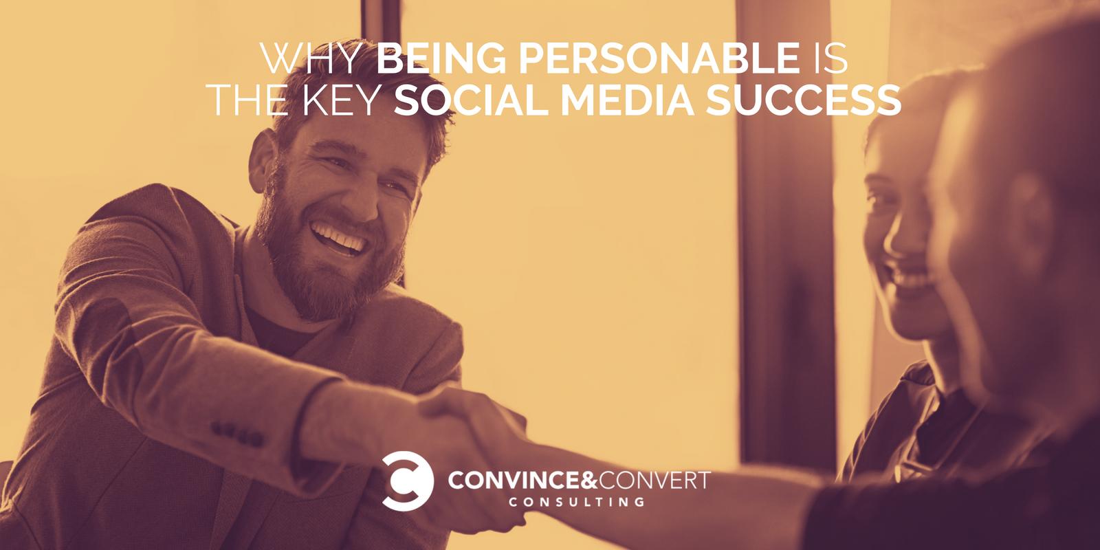 personable key social success