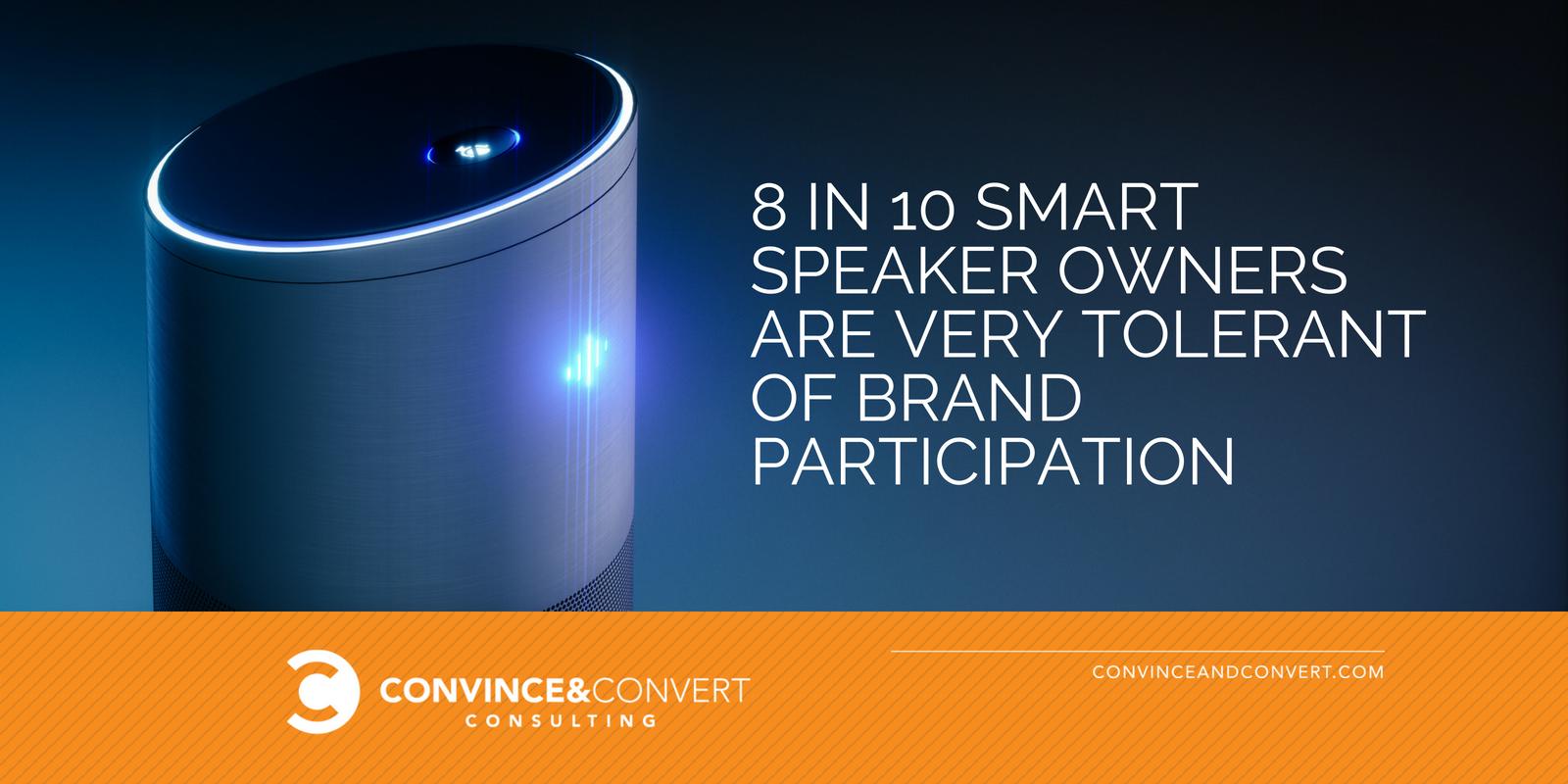 smart speaker brand statistic