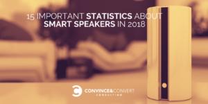 smart speaker statistics 2018