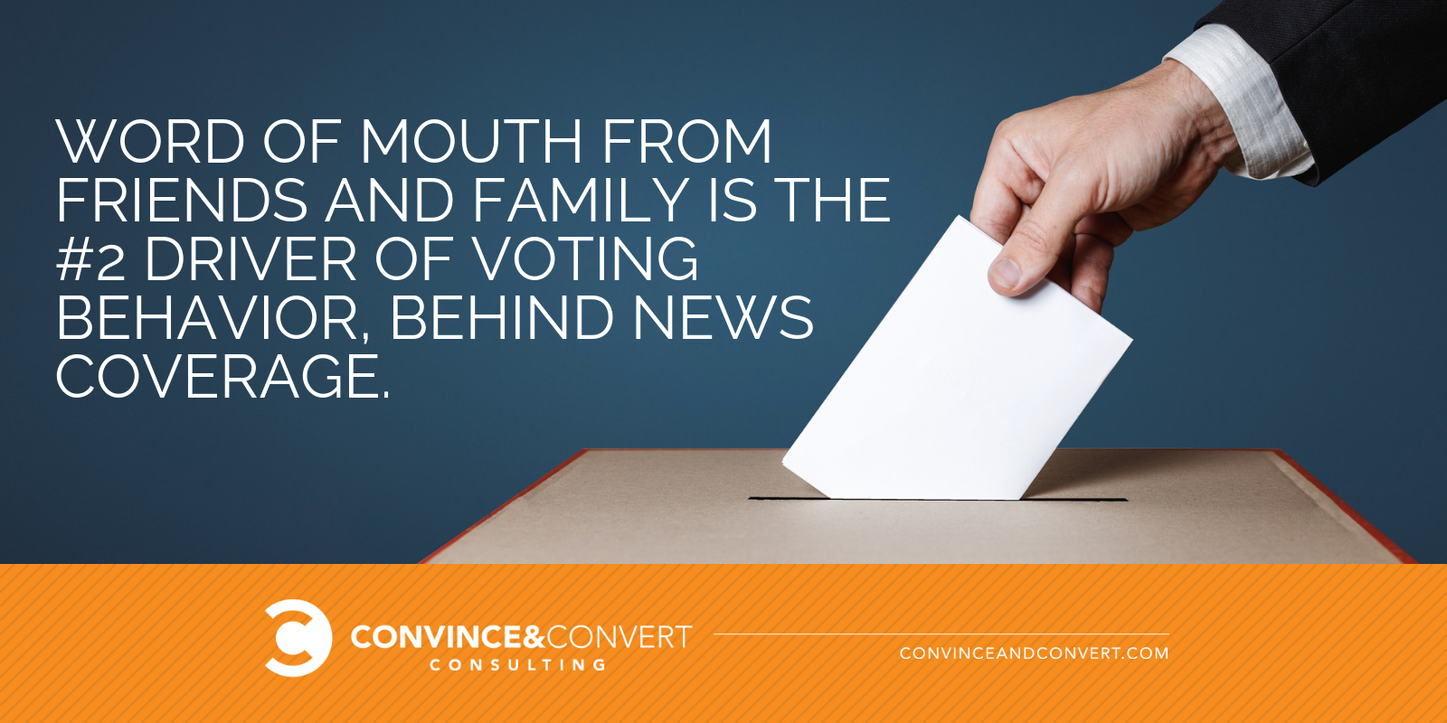 word of mouth voting behavior