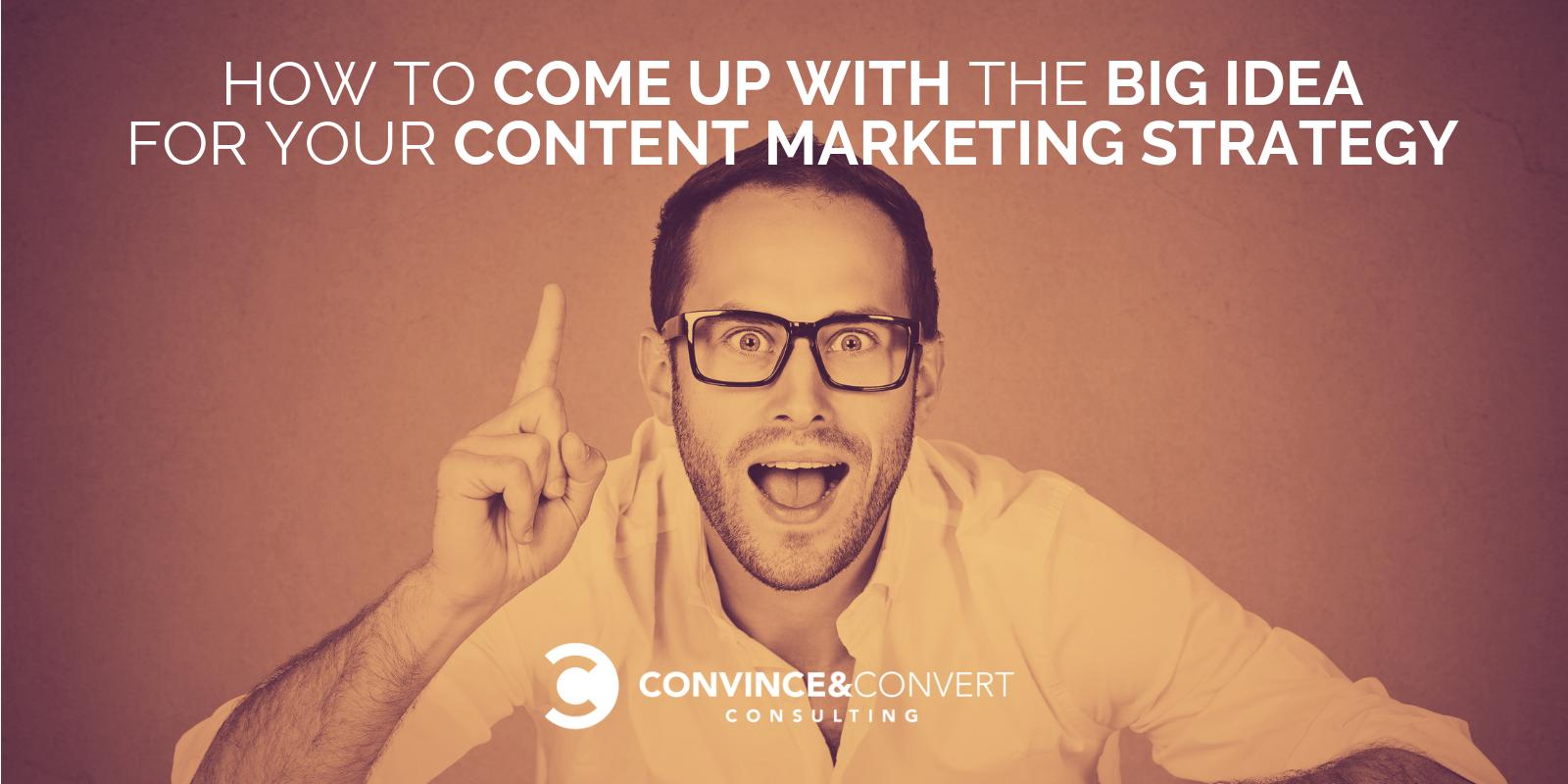 big content marketing idea