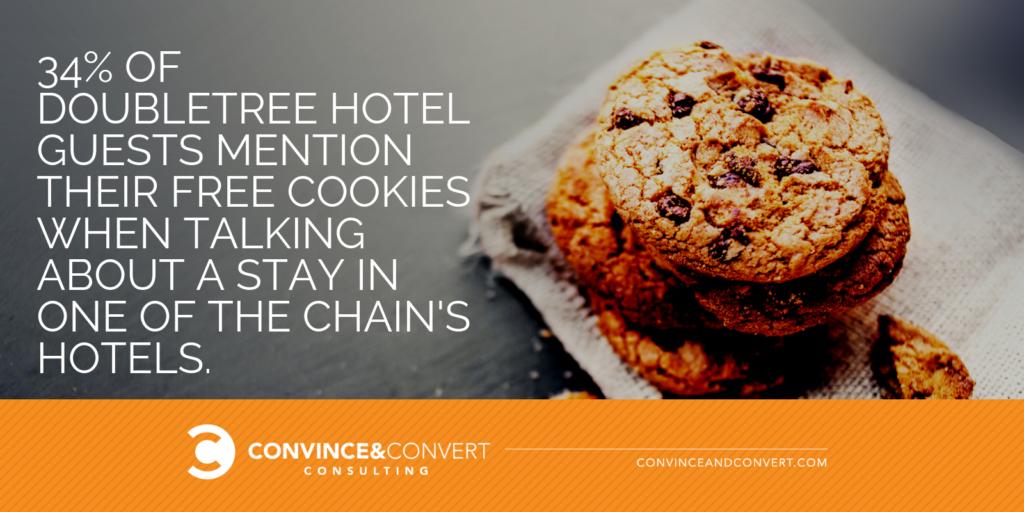 doubletree hotel free cookies