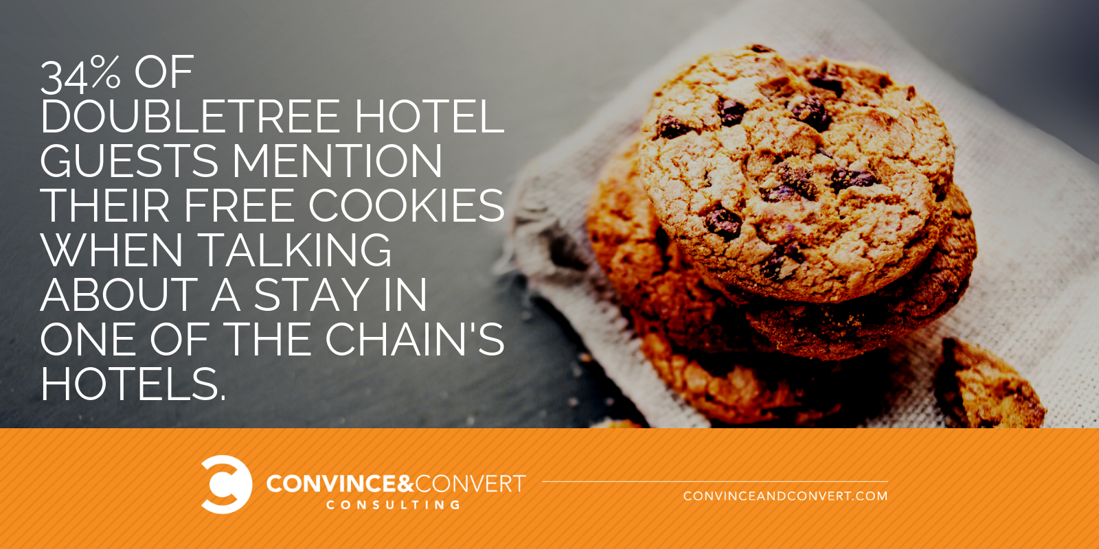 doubletree hotel free cookies
