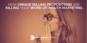 unique selling proposition word of mouth