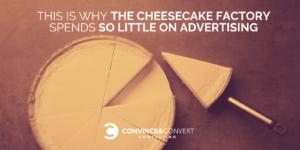 Cheesecake Factory advertising