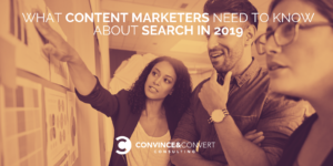 content marketers search 2019