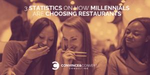 millennials restaurant statistic