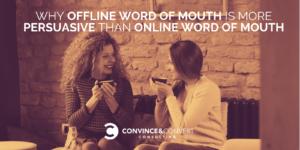 offline vs online word of mouth