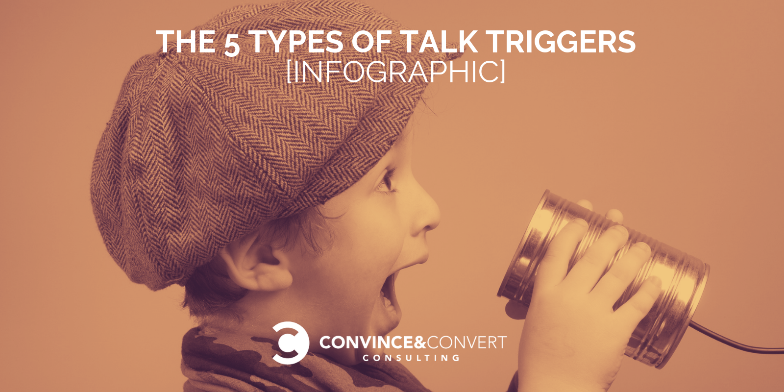 types of talk triggers word of mouth infographic