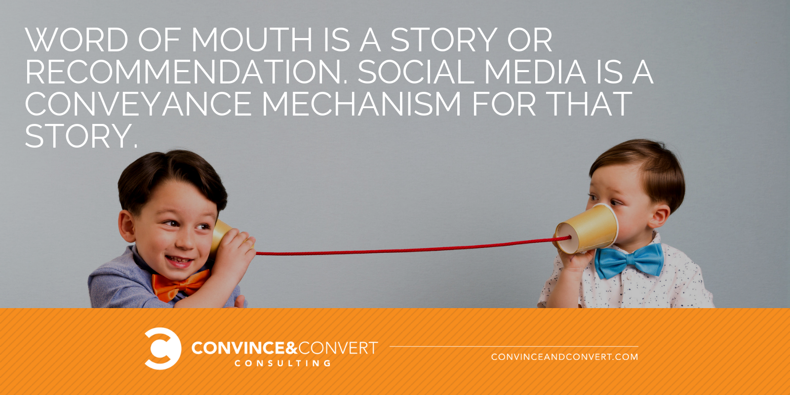 word of mouth vs social