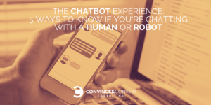 chatbot human or robot