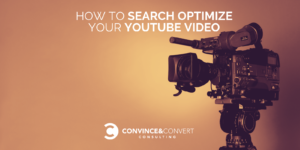 how to search optimize youtube video