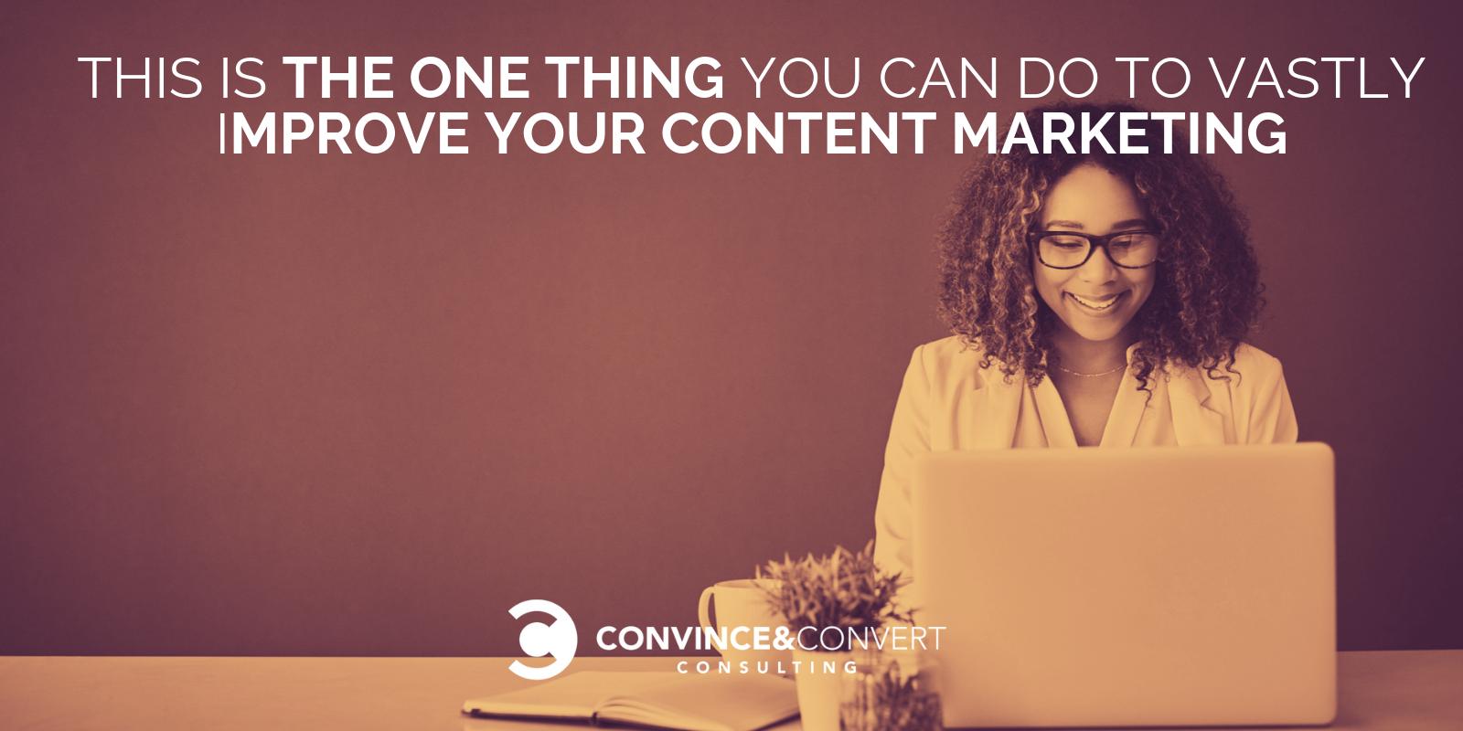 vastly improve content marketing