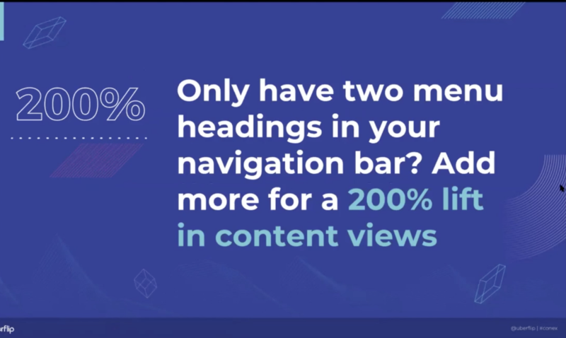 navigation statistic
