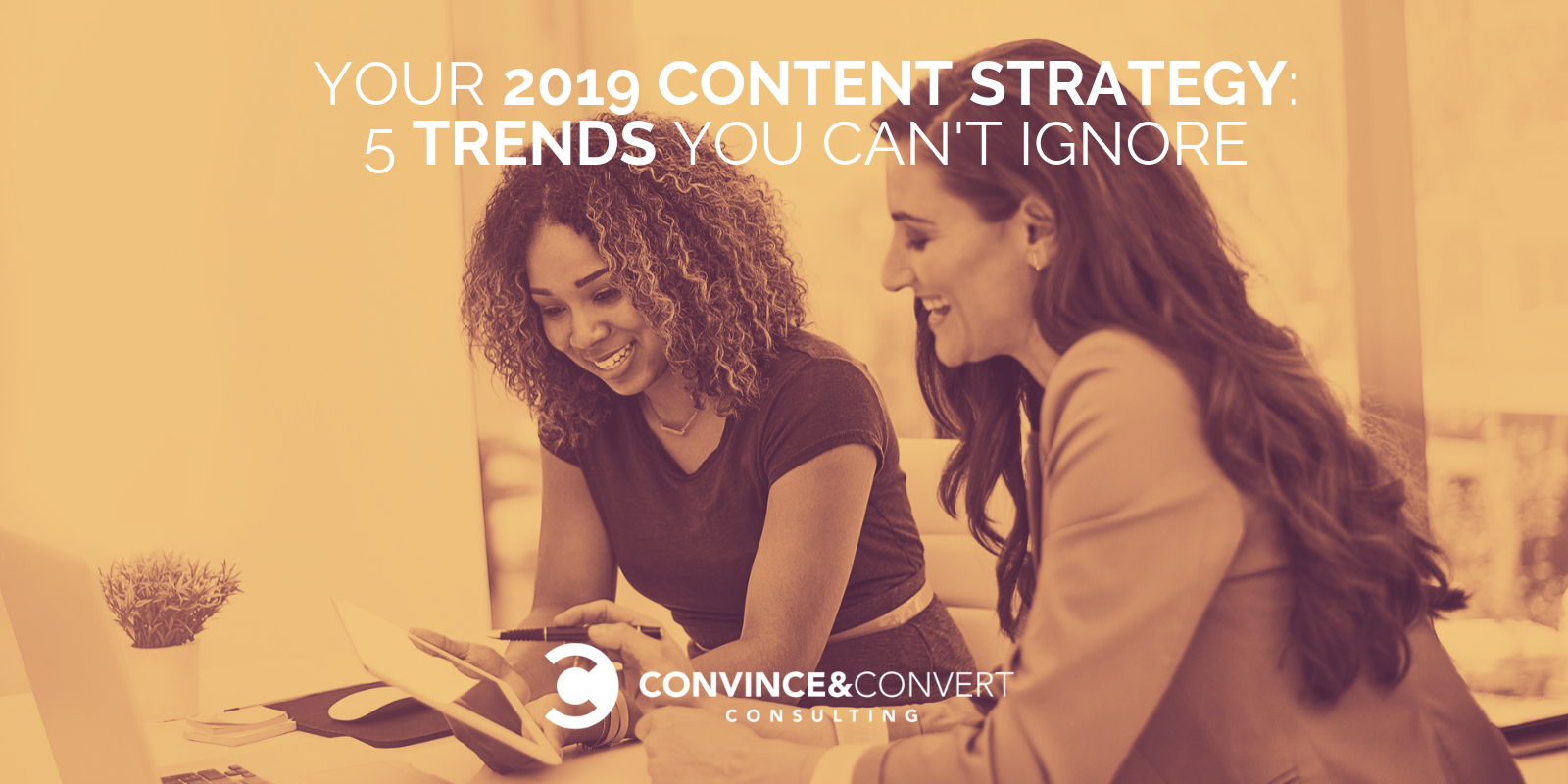 Your 2019 Content Strategy: 5 Trends You Can't Ignore