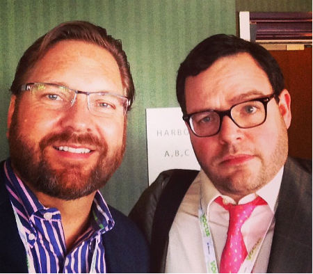 Lee Odden and Jay Baer at SMMW 2014