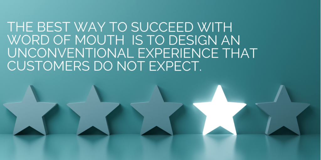 Best way to succeed with word of mouth