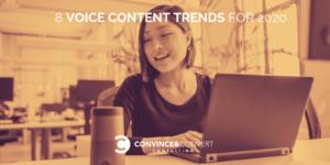 Voice Content Trends