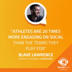 How opendorse Revolutionized Athlete Marketing in Social Media