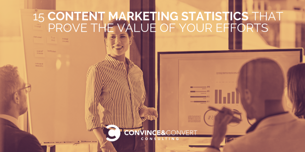 15 Content Marketing Statistics that Prove the Value of Your Efforts