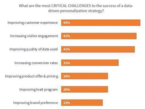 Data-Driven Personalization Challenges