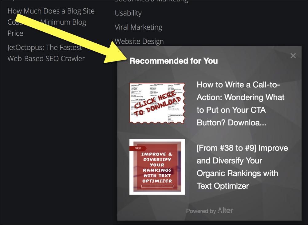 Content Marketing Tools: Alter