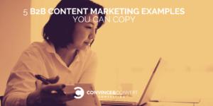 B2B Content Marketing Examples